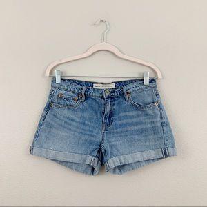 GAP Medium Wash Best Girlfriend Jean Shorts